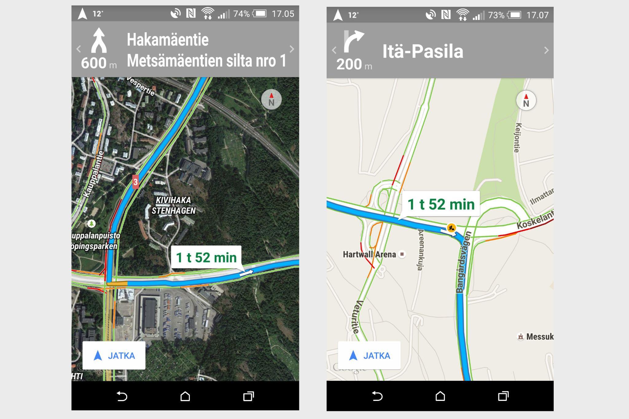 Google Navigaattori