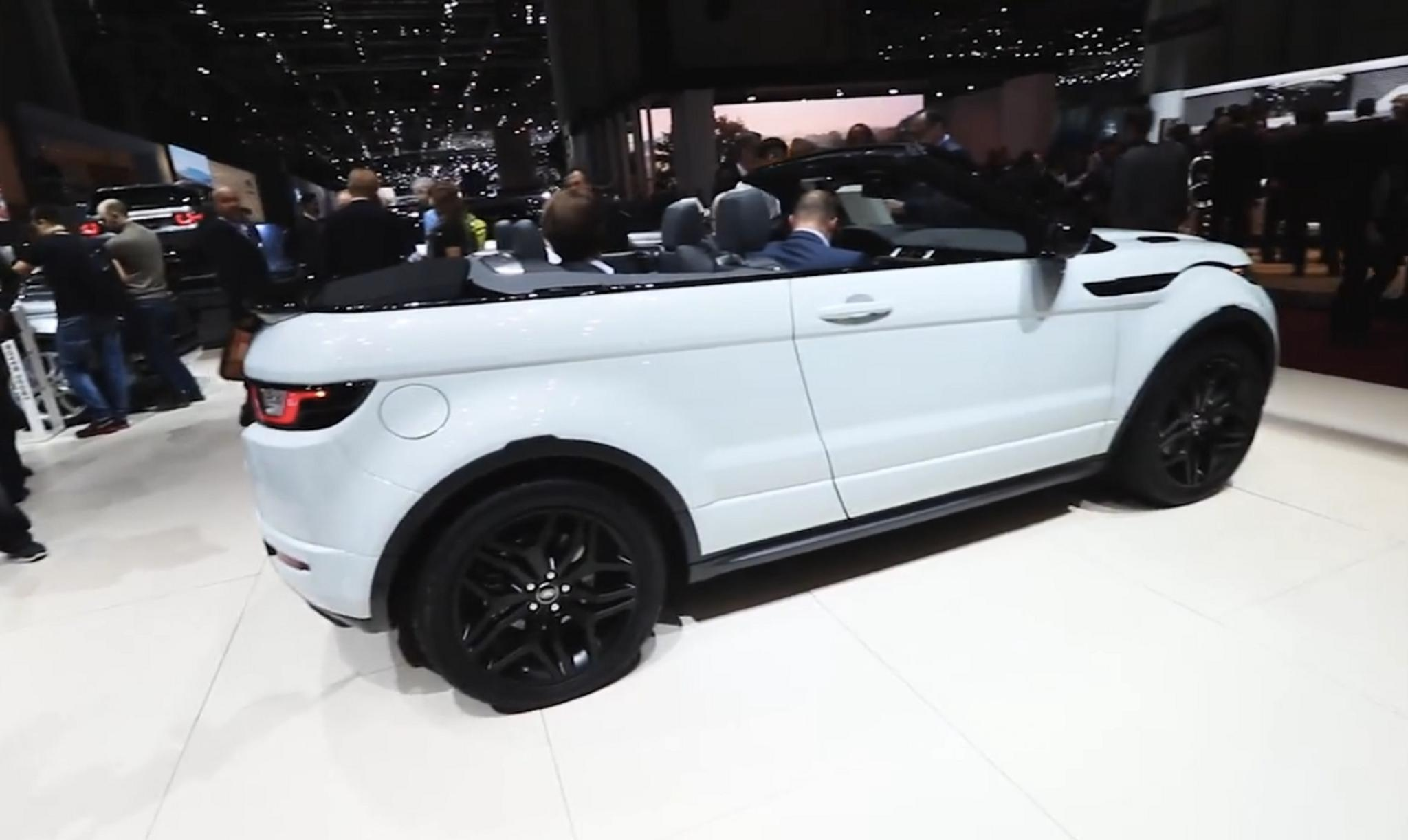 Range Rover Convertible >> Geneve 2016 Range Rover Evoque Convertible Avoauto Joka Sopii Suom Tuulilasi