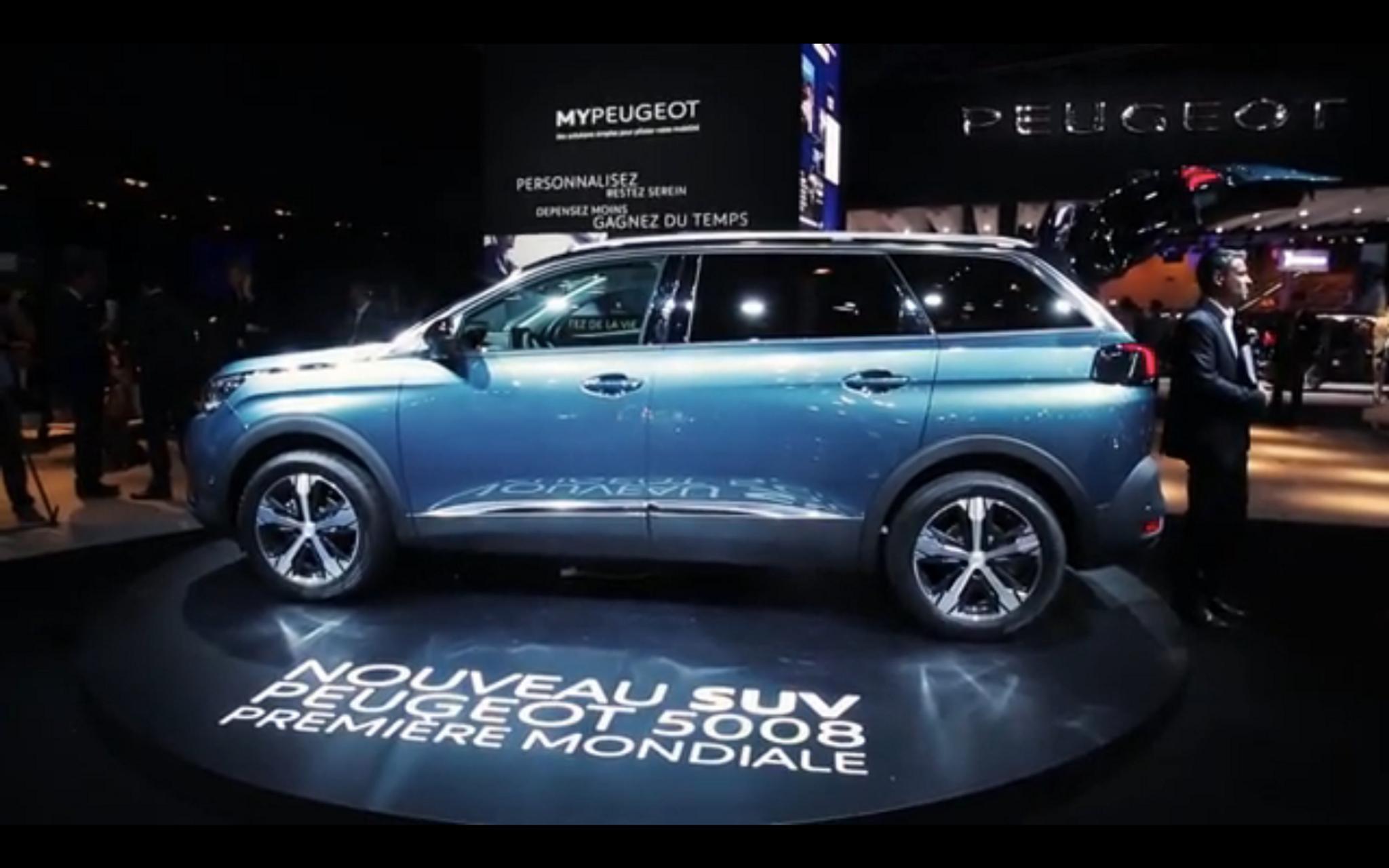 Peugeot 5008 Suv >> Pariisi 2016 Live Uusi Peugeot 5008 Suv Mokkileviketta Loytyy Tuulilasi