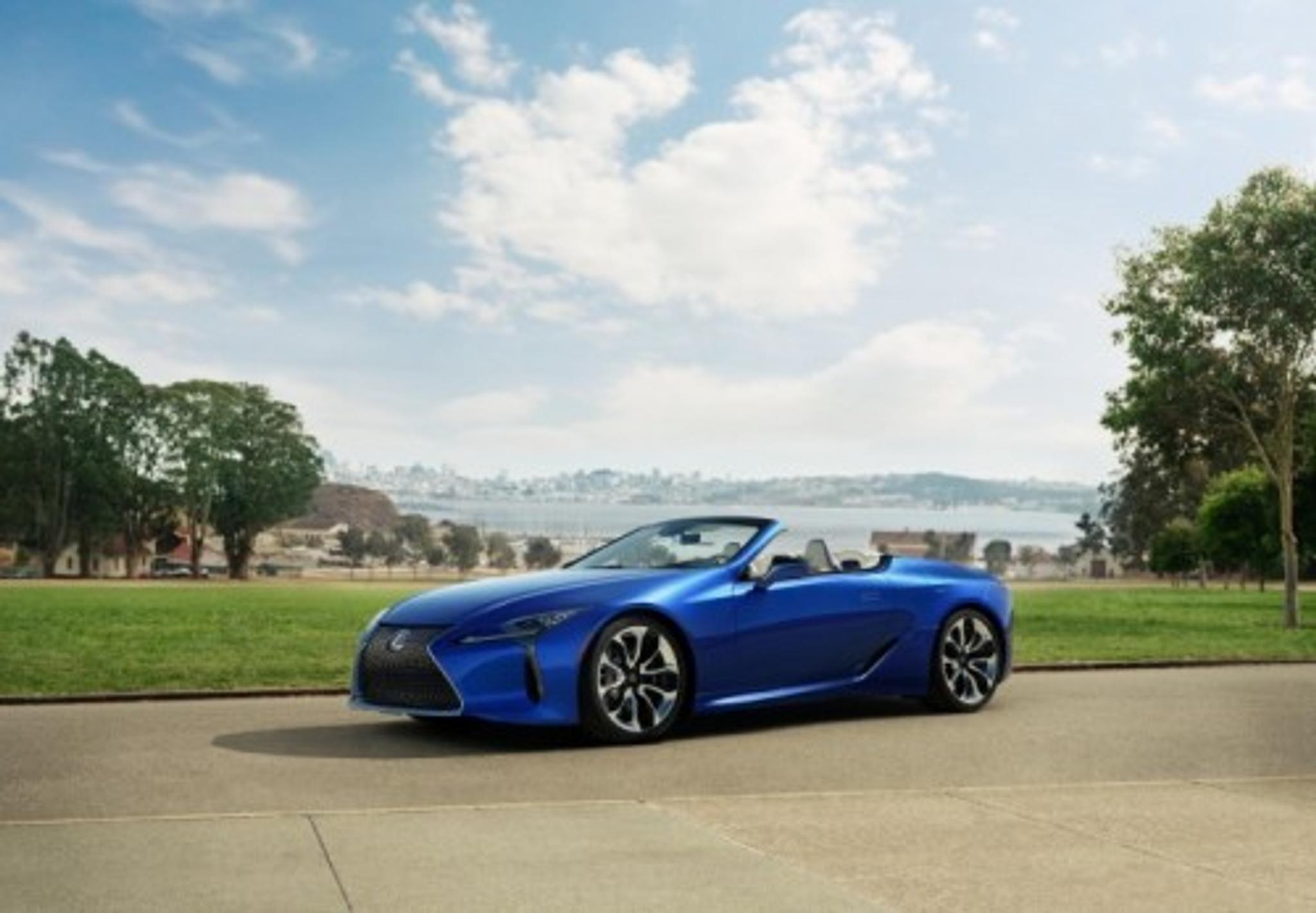Lexus Los Angeles >> Katso Kuvat Lexus Esittelee Lc 500 Avomallin Los