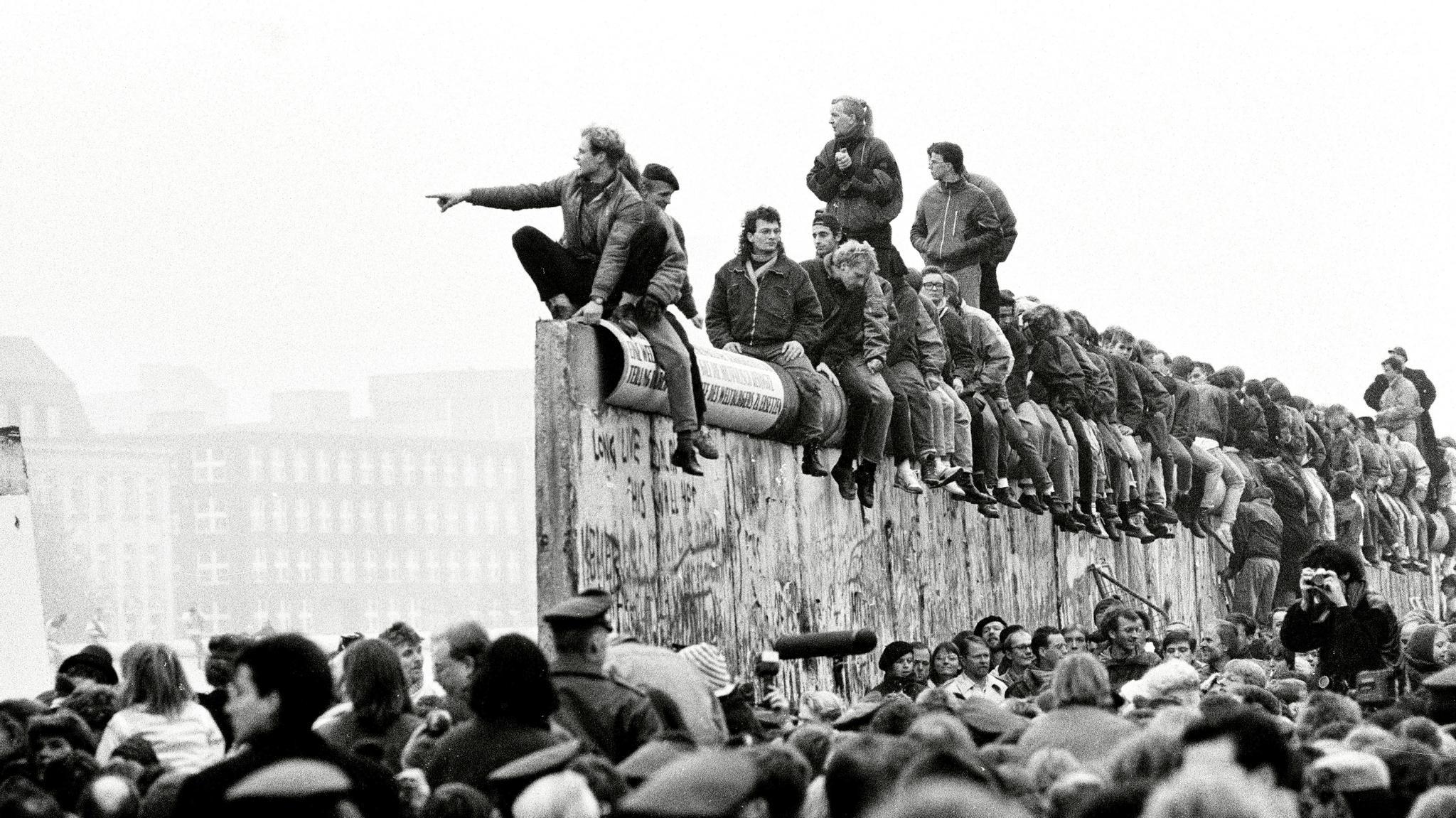 Berliinin Muuri Murtui