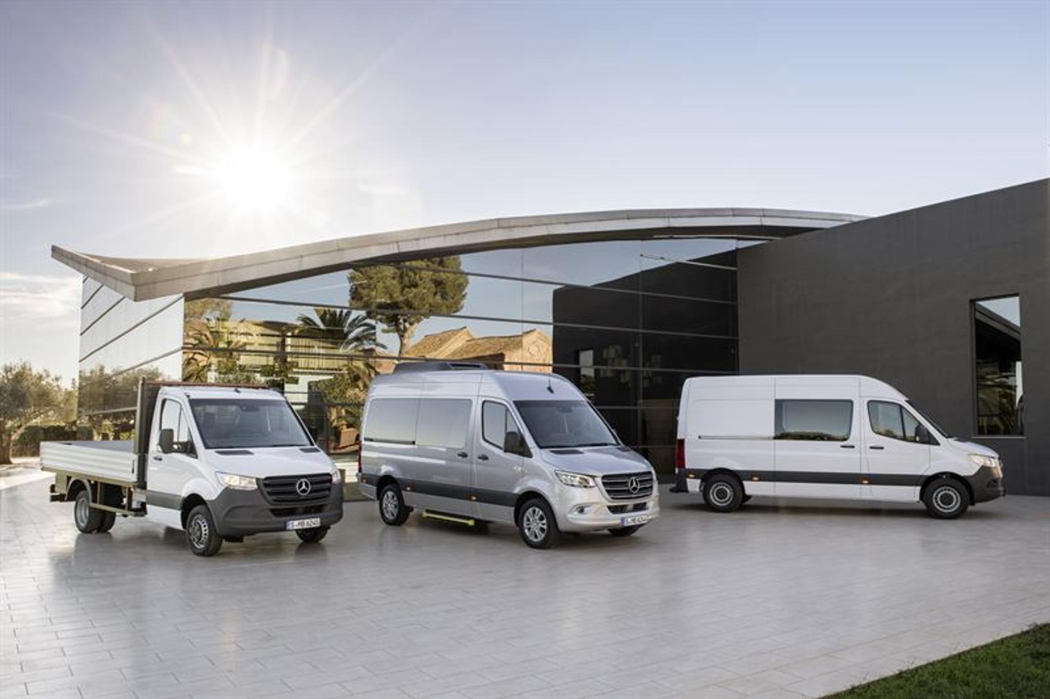 Mercedes Mini Van >> Mercedes Sahkoistaa Koko Pakettiautomallistonsa Tuulilasi