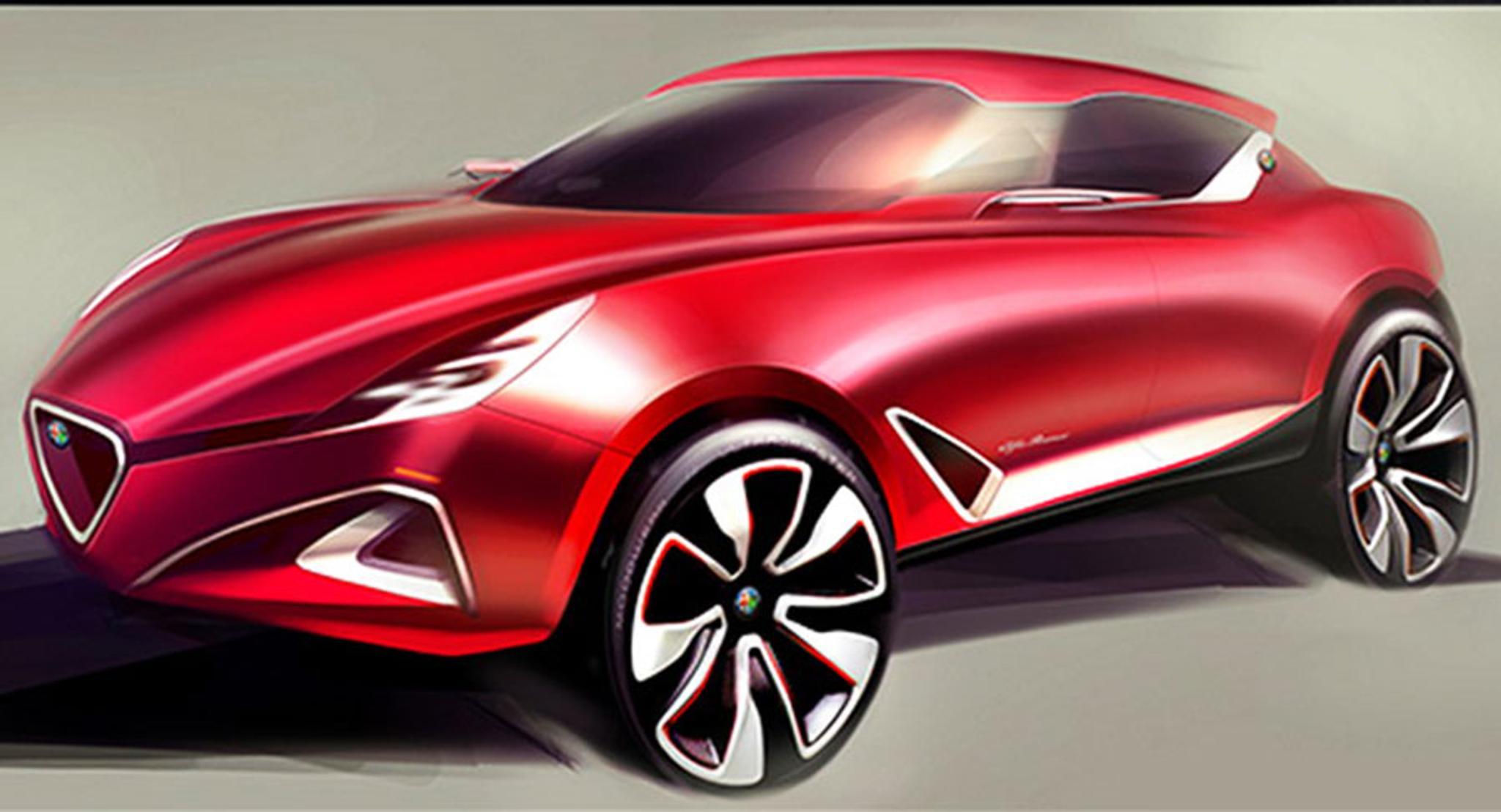 Alfa Romeo Suv >> Katso Kuvat Alfa Romeolta Tulossa Napsakka Pikku Suv