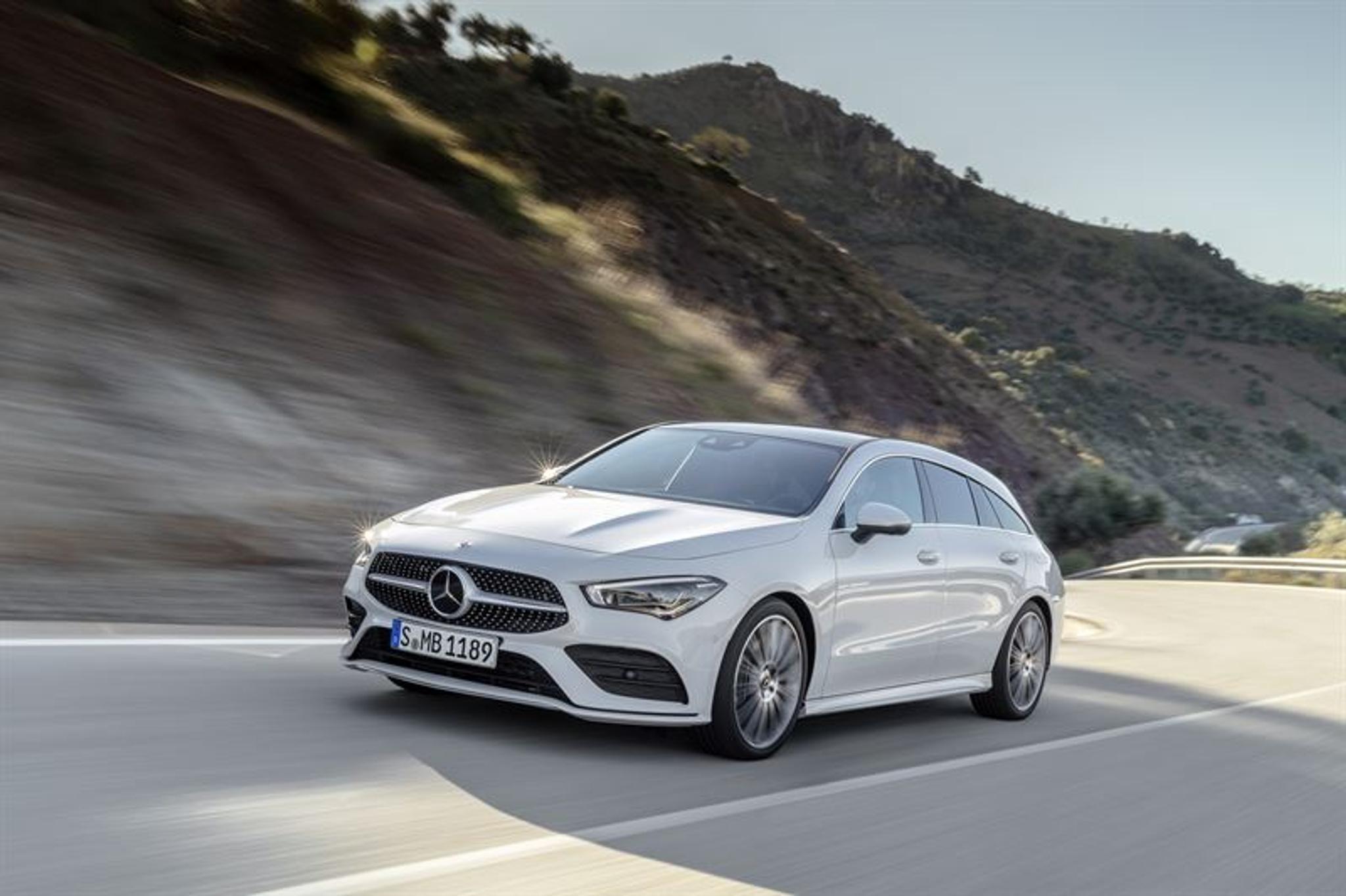 Cla Shooting Brake >> Tassa On Mercedes Benzin Uusi Cla Shooting Brake Tuulilasi