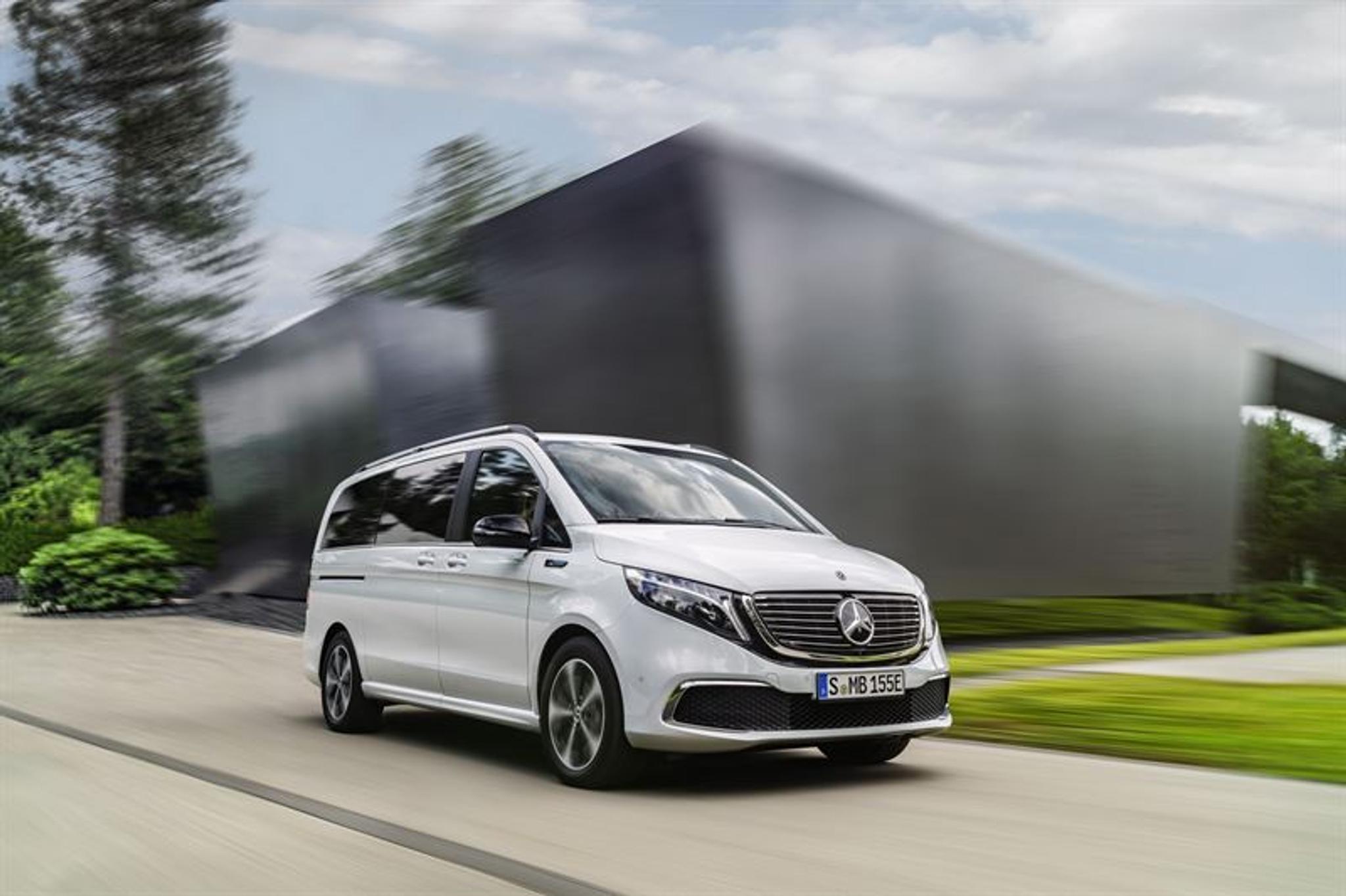 Mercedes Mini Van >> Mercedes Benz Esittelee Ensimmaisen Tayssahkoisen Premium