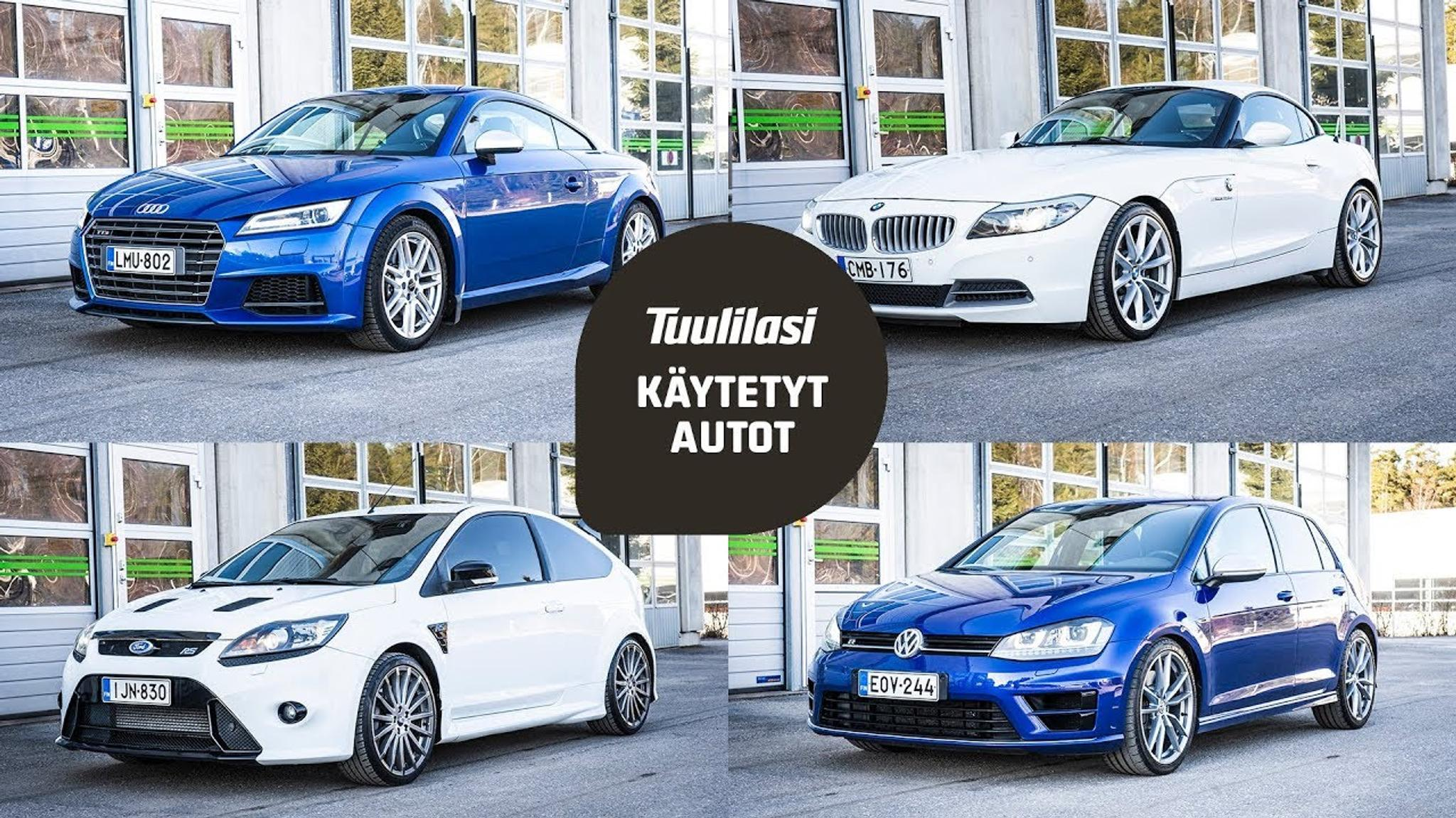 Ford Focus Rs Vs St >> Kaytetyt Sportit Audi Tts Vw Golf R Bmw Z4 Ford Focus Rs Tuulilasi