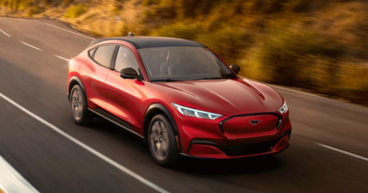 Ford Com Mustang >> Katso Kuvat Ja Video Fordilta Tayssahkoinen Suv Mustang