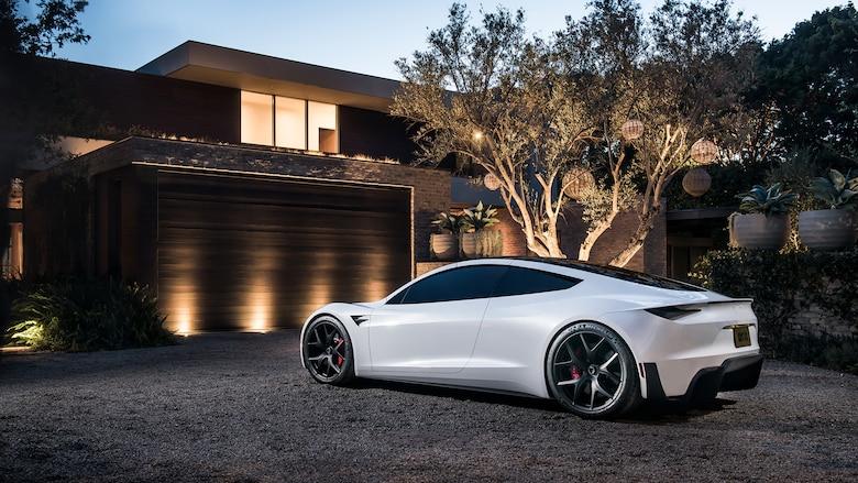 2020 Tesla Roadster >> Elon Musk Tesla Roadster Rikkoisi Helposti Ringin